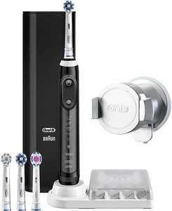 Электрическая зубная щетка BRAUN Oral-B Genius 9000 D701.545.6XC Black
