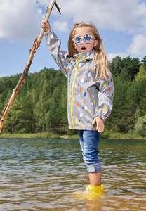 Куртка-дождевик для девочки OLDOS ACTIVE (размеры 110, 116, 122, 128), с учетом баллов за регистрацию