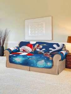 Рождественские накидки на мебель (Санта и Олени) от 11.99$