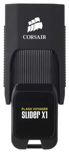 Флешка Corsair Flash Voyager Slider X1 128GB