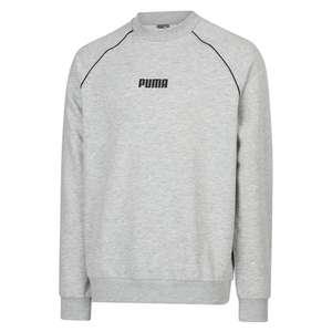 Мужская толстовка Puma high neck crew sweat 6 (размеры XS-XL) два цвета