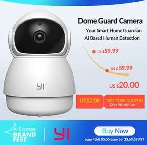 Купольная камера Yi Dome Guard Camera