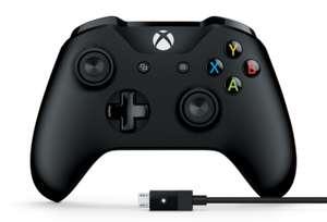 [Москва] Геймпад Microsoft Xbox One Controller + USB-кабель для ПК (4N6-00002)