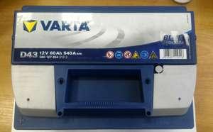Автомобильный аккумулятор Varta 60а/ч
