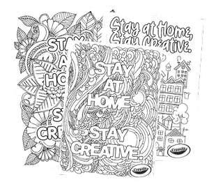 Раскраски и поделки из бумаги для детей и взрослых от Crayola (на англ.)