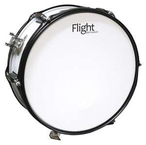 Маршевый барабан малый Flight FMS-1455 WH (ударные музыкальные инструменты)