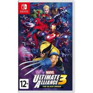 [Калининград, Nintendo Switch] Marvel Ultimate Alliance 3: The Black Order