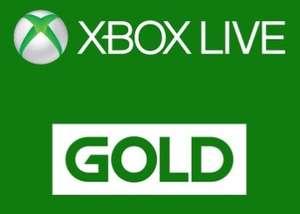 1 месяц Xbox Live Gold для новых пользователей