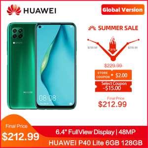 Смартфон HUAWEI P40 Lite 6GB 128GB за $196