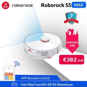 Топовый робот-пылесос Roborock S5 Max за 398$
