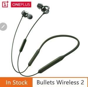 Беспроводные наушники OnePlus Bullets Wireless 2 с кодеком APTX