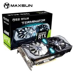 Видеокарта Maxsun GeForce RTX 2060 Terminator
