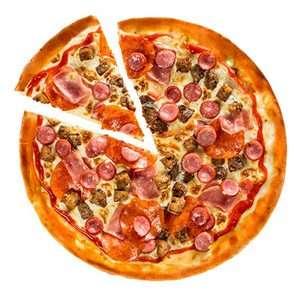 """[Москва, Троицк, Ватутинки] Пицца """"Мясной пир"""" со скидкой 50%"""