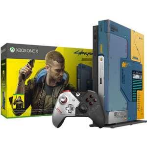 Microsoft Xbox One X 1TB + игра Cyberpunk 2077