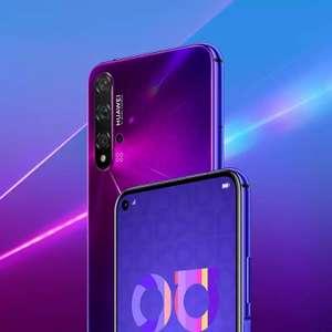 Смартфон Huawei Nova 5T, Global Version, Фиолетовый (6/128, NFC, Kirin 980)