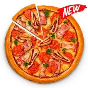 """[Москва, Троицк, Ватутинки] Пицца """"Кантри барбекю"""" скидка 50%"""