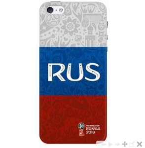 Чехол FIFA Flag Russia для Apple iPhone 5/5S/SE