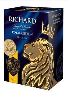 Чай весовой черный цейлонский Richard Royal Ceylon 180 гр.