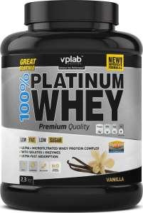 """[не все регионы] Протеин VPLab """"100% Platinum Whey"""", ваниль, 2,3 кг"""