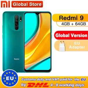 Redmi 9 4/64 Global Version (с добивкой и купоном AliExpress 1200/10000)