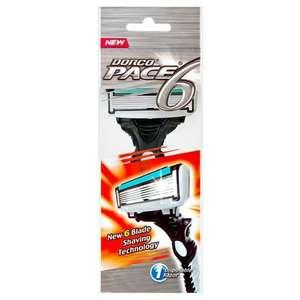 Dorco Pace 6 Blade Disposable Razor (станок для бритья)