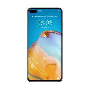 Смартфон Huawei P40 (Black/Silver Frost)
